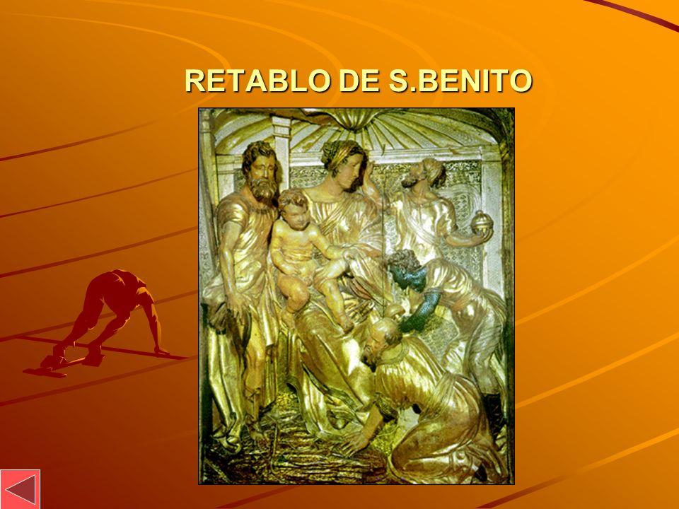 RETABLO DE S.BENITO RETABLO DE S.BENITO