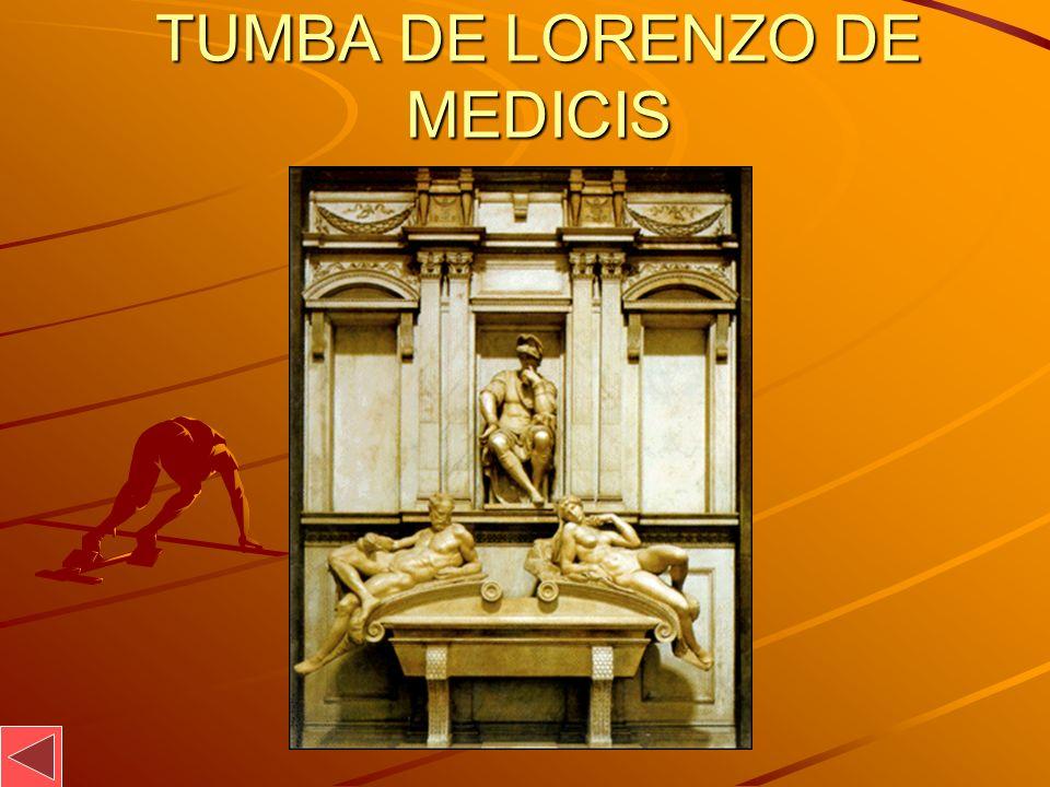 TUMBA DE LORENZO DE MEDICIS