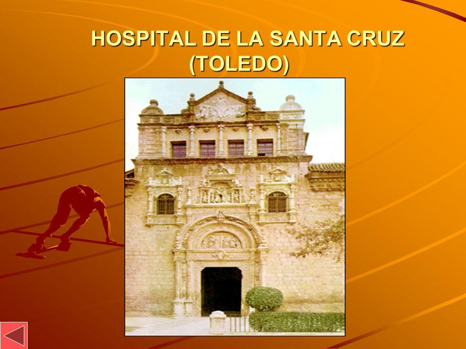 HOSPITAL DE LA SANTA CRUZ (TOLEDO) HOSPITAL DE LA SANTA CRUZ (TOLEDO)