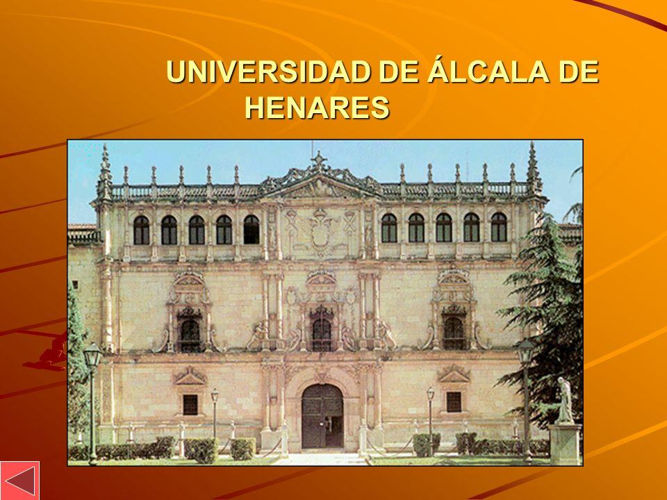 UNIVERSIDAD DE ÁLCALA DE HENARES UNIVERSIDAD DE ÁLCALA DE HENARES