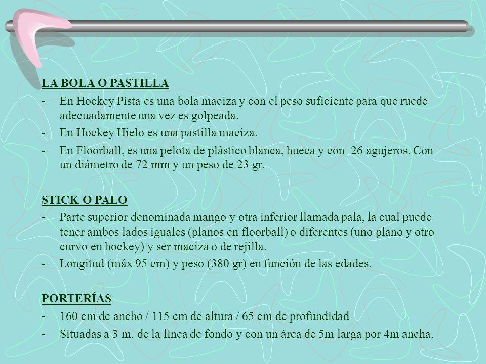 LOS JUGADORES -El número varía en función de la modalidad.