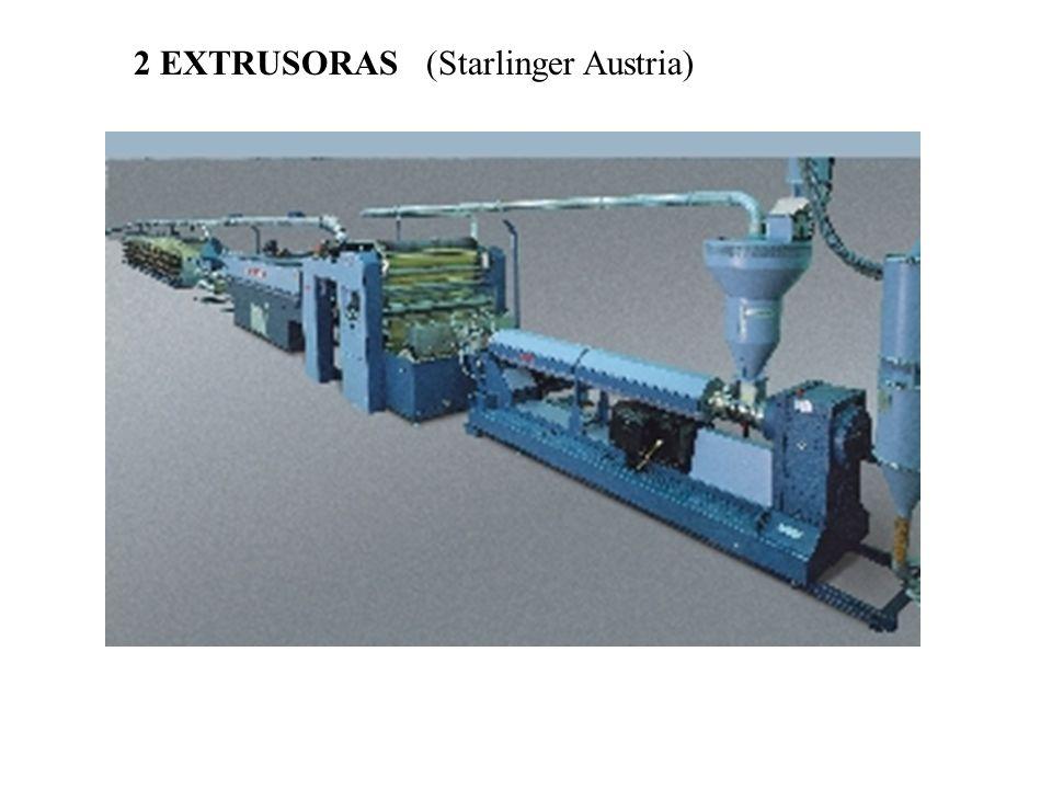 2 EXTRUSORAS (Starlinger Austria)