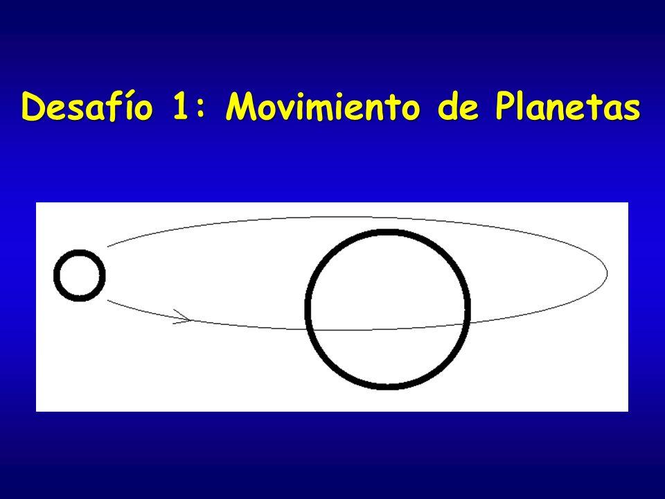 Desafío 1: Movimiento de Planetas