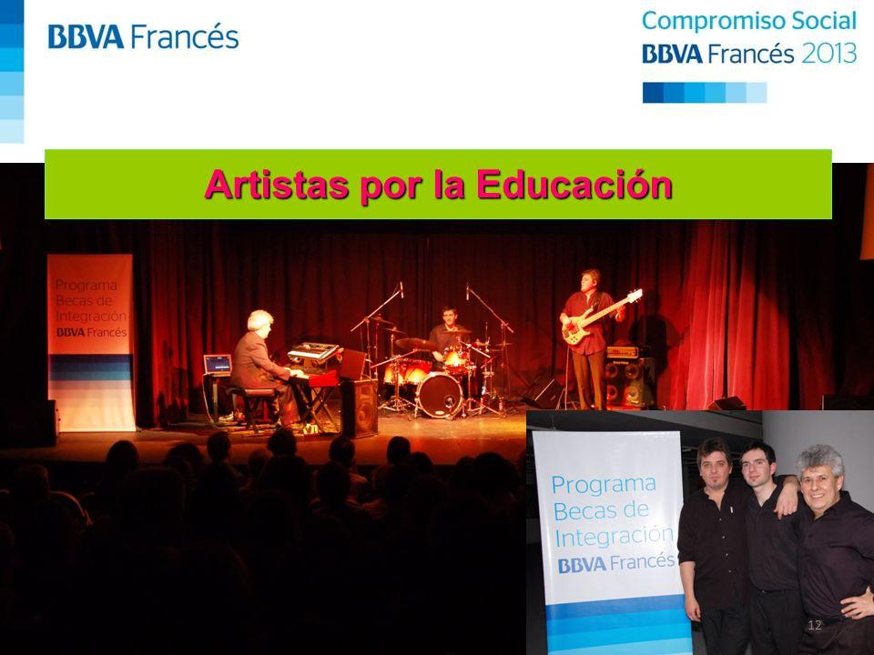 12 Artistas por la Educación
