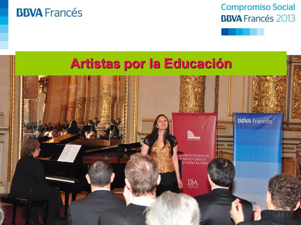 13 Artistas por la Educación