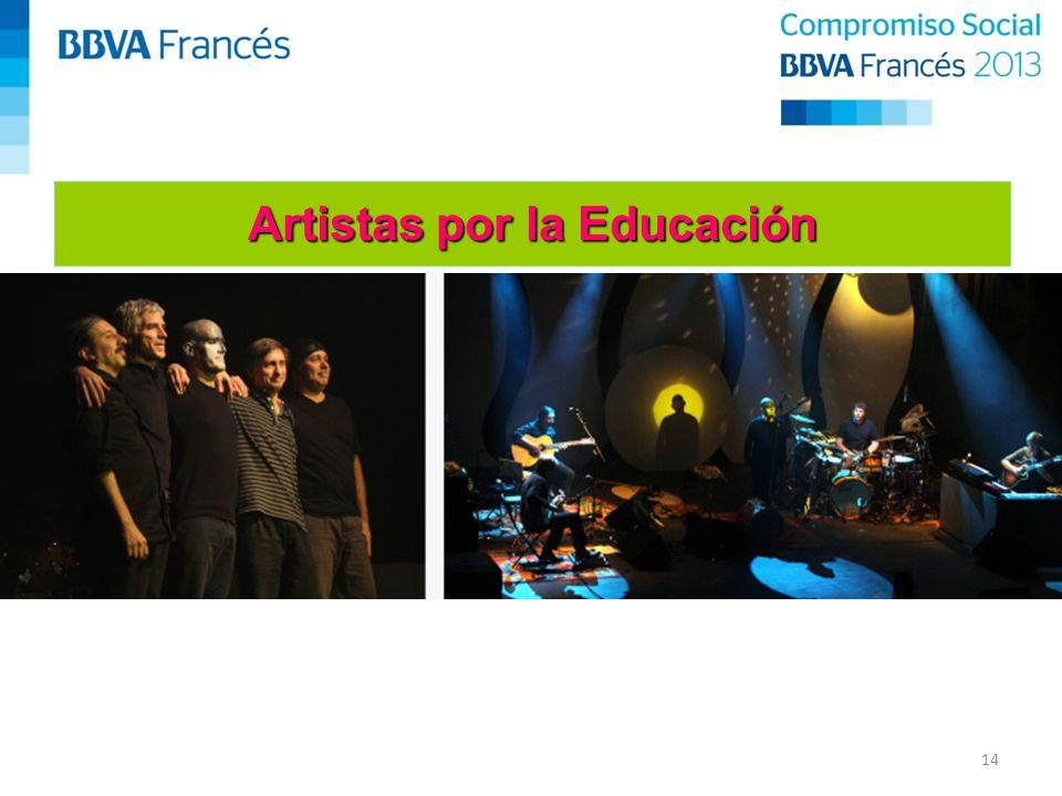 14 Artistas por la Educación