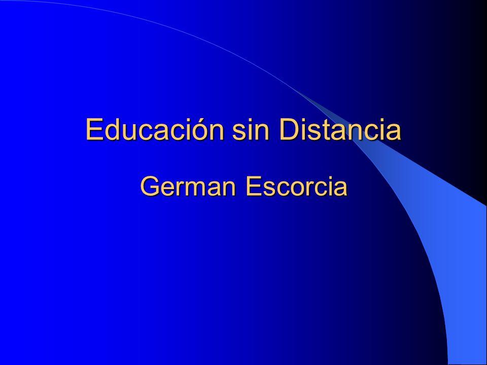 Educación sin Distancia German Escorcia
