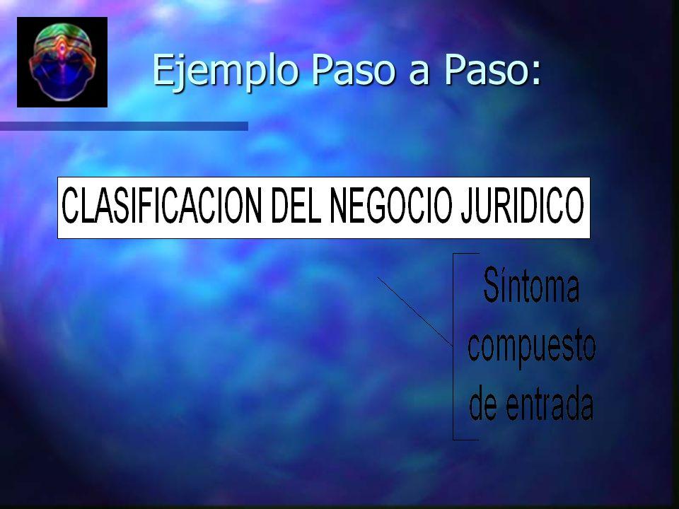 Ejemplo Paso a Paso: Ejemplo Paso a Paso: