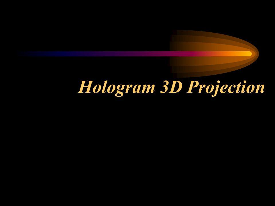 Hologram 3D Projection