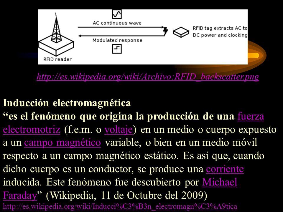 Inducción electromagnética es el fenómeno que origina la producción de una fuerza electromotriz (f.e.m. o voltaje) en un medio o cuerpo expuesto a un