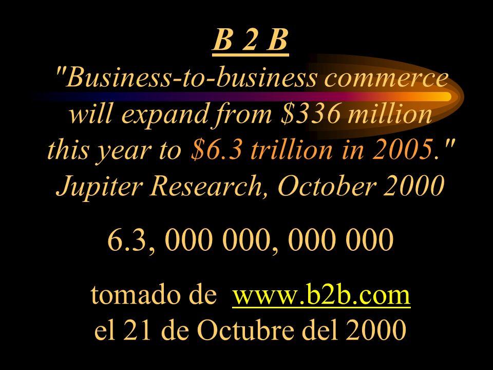 B 2 B