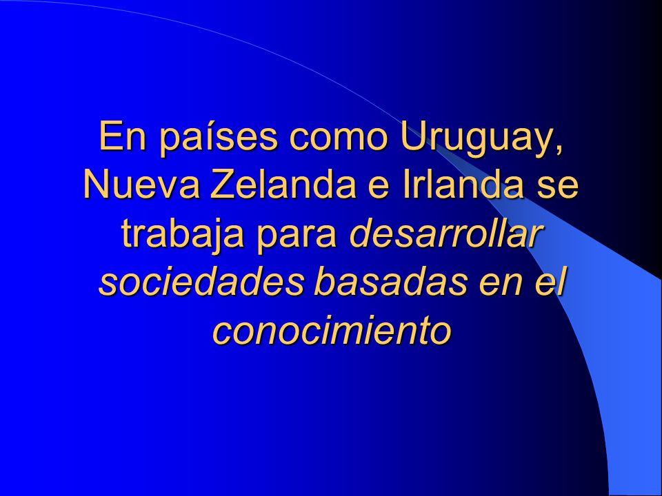 Uruguay 3.0Es el Uruguay que tiene el conocimiento como base de su economía, aprovechando su mejor recurso que es su gente con un buen nivel de educación Ricardo Zisis, anfitrión de una de las megaconferencias organizadas dentro del proyecto