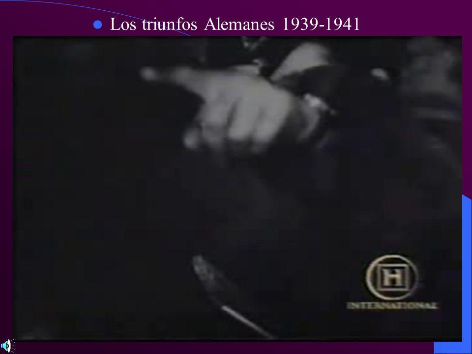 Los triunfos Alemanes 1939-1941