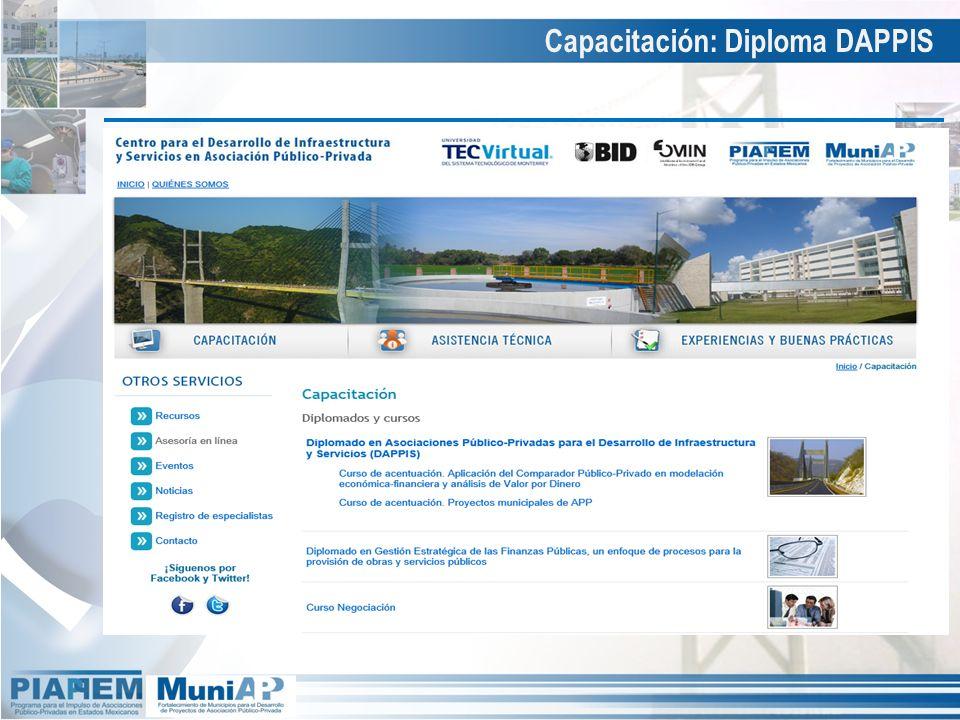 Capacitación: Diploma DAPPIS Capacitación – Diplomado y cursos en línea