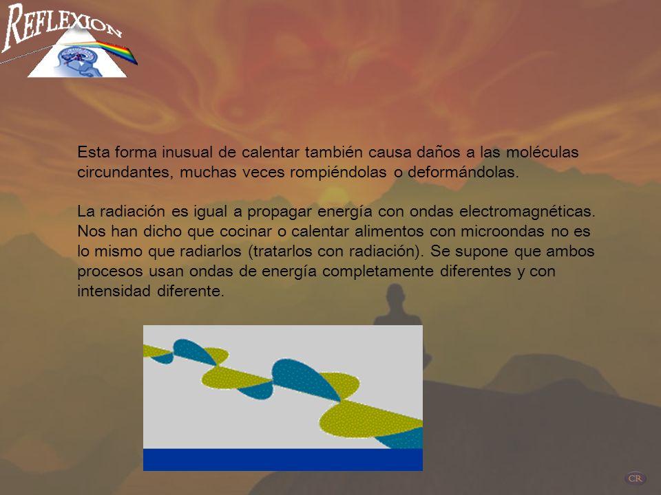 Las microondas son una forma de energía electromagnética, como las ondas de luz o de radio, muy utilizadas en telecomunicaciones. Sin embargo, las mic
