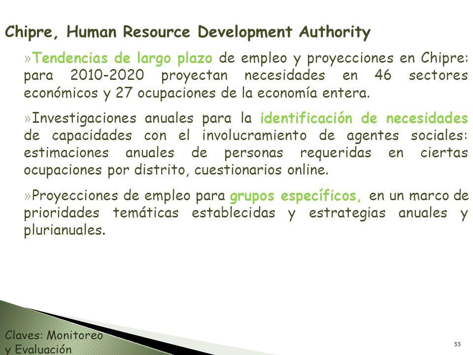 Chipre, Human Resource Development Authority » Tendencias de largo plazo de empleo y proyecciones en Chipre: para 2010-2020 proyectan necesidades en 4