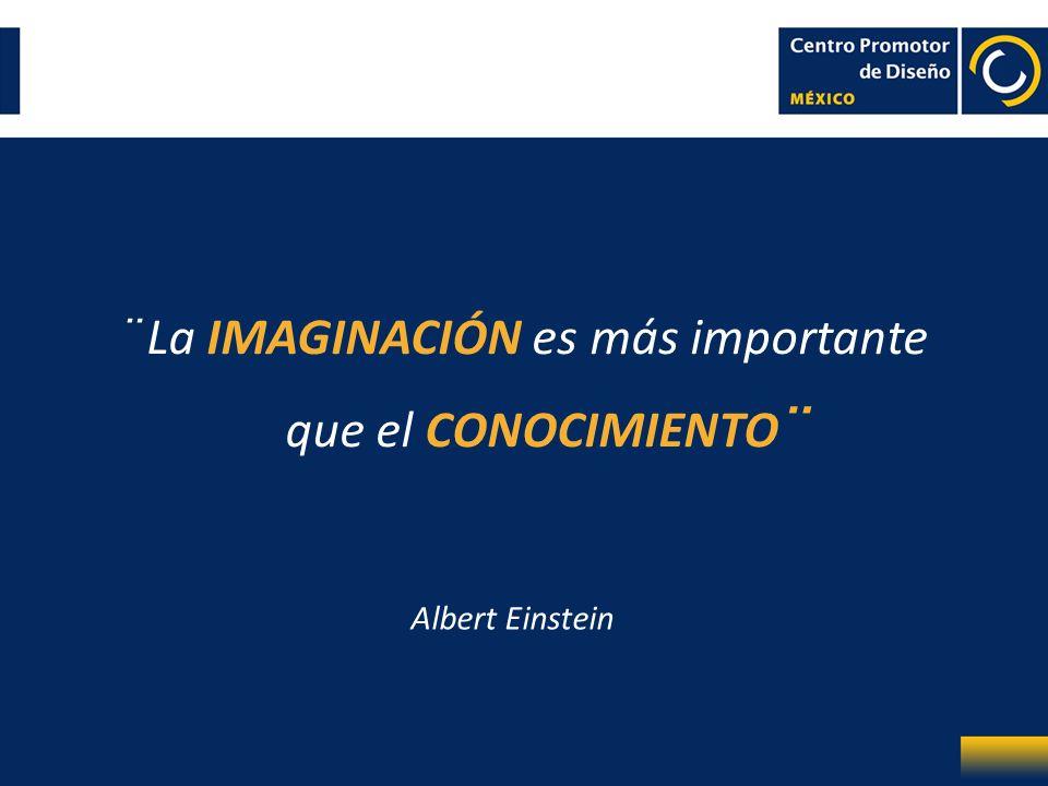 ¨ La IMAGINACIÓN es más importante que el CONOCIMIENTO¨ Albert Einstein