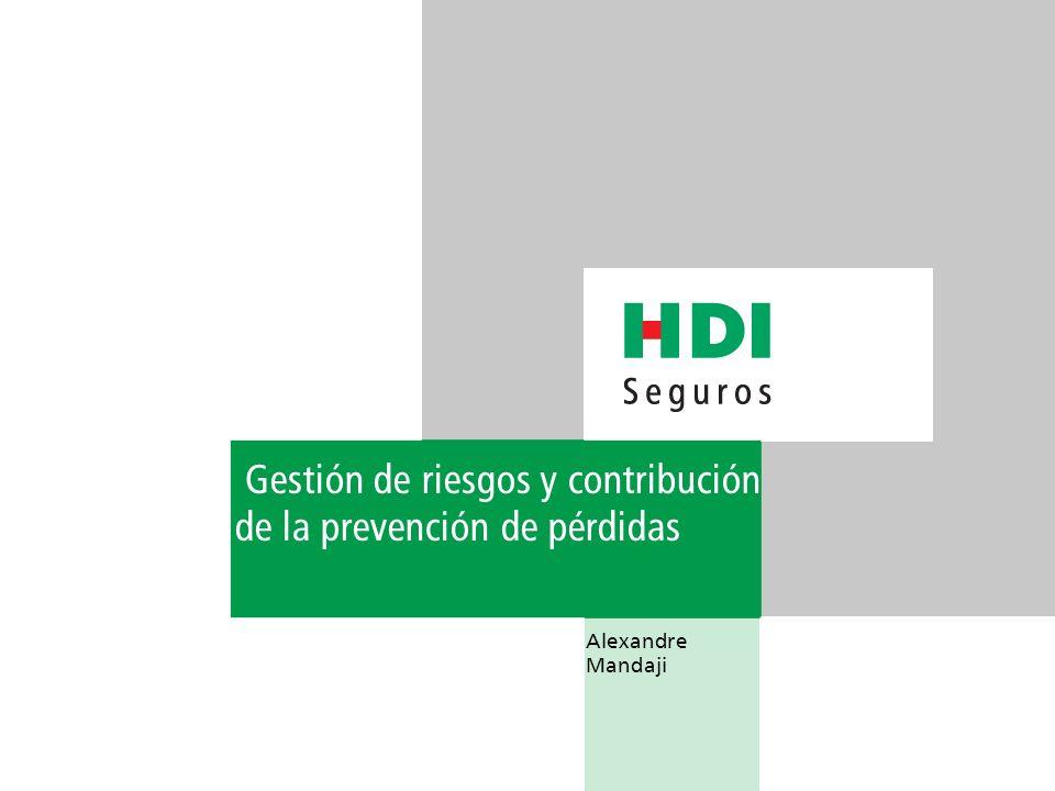 Agradecimiento final HDI Seguros agradece la oportunidad de contribuir con la discusión de un tema tan relevante, al mismo tiempo que felicita a Adventist Risk Management Sudamericana por la valiosa iniciativa y la organización del I Congreso Sudamericano de Gestión de Riesgos.