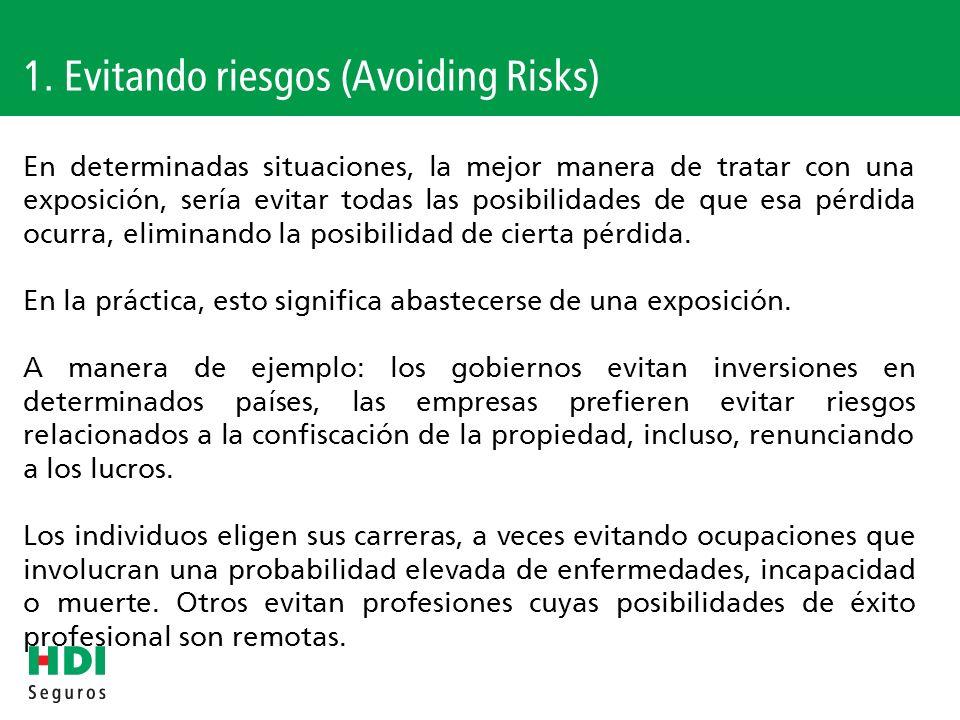 Recordando las etapas de gestión de riesgo I.