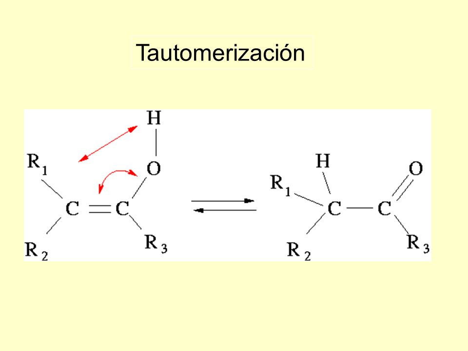 Tautomerización