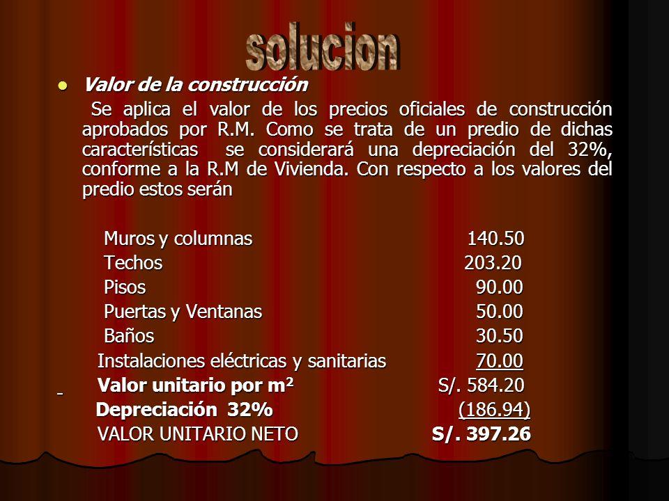 La señorita Iris Venegas bravo tiene un único predio ubicado en Av. Manco Cápac 980-La Victoria, nos solicita determinar el impuesto predial para el e