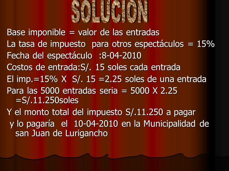 El señor Ramón Peralta realiza un espectáculo en el local EL TAITA (en San Juan de Lurigancho) el día 8 de Abril del 2010 donde se presentan diversos