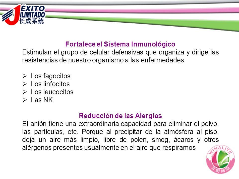 Fortalece el Sistema Inmunológico Estimulan el grupo de celular defensivas que organiza y dirige las resistencias de nuestro organismo a las enfermeda