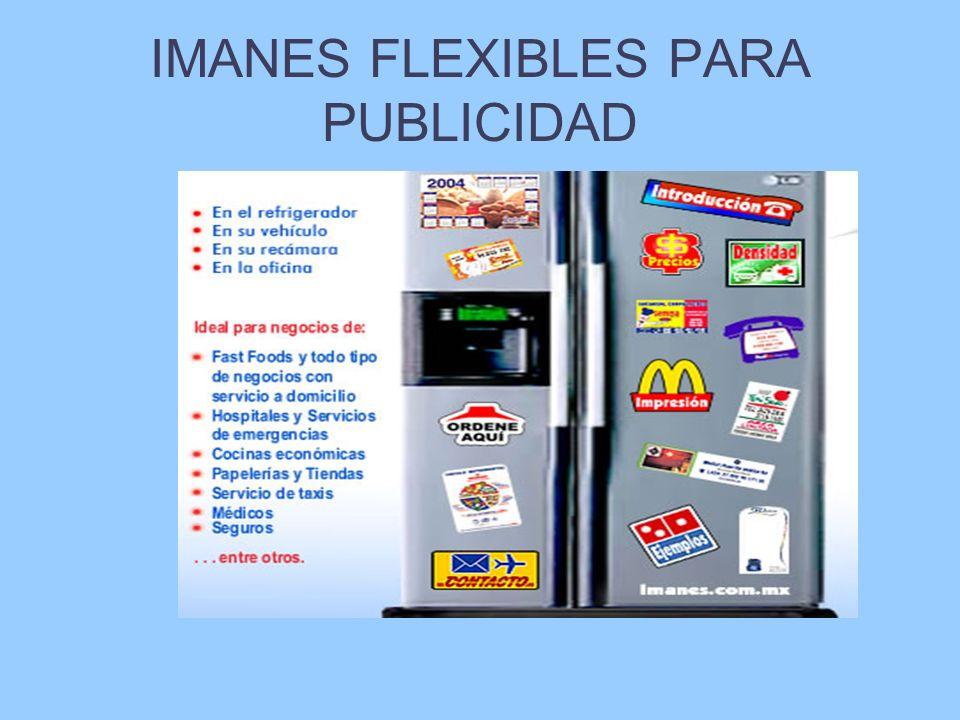 IMANES FLEXIBLES PARA PUBLICIDAD