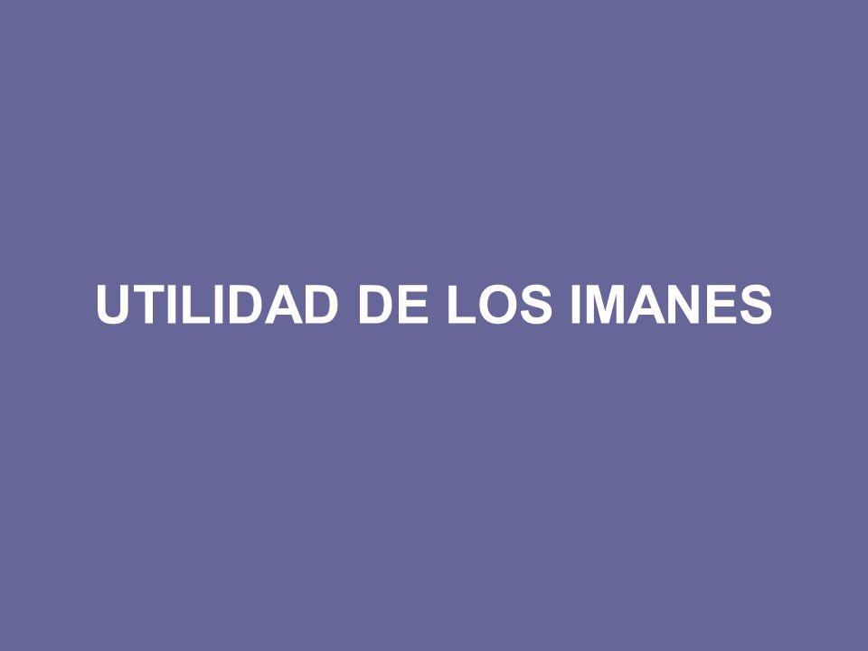 UTILIDAD DE LOS IMANES
