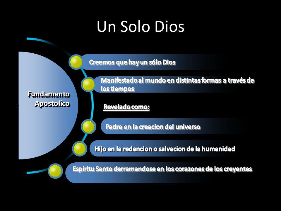 Un Solo Dios FundamentoApostolicoFundamentoApostolico