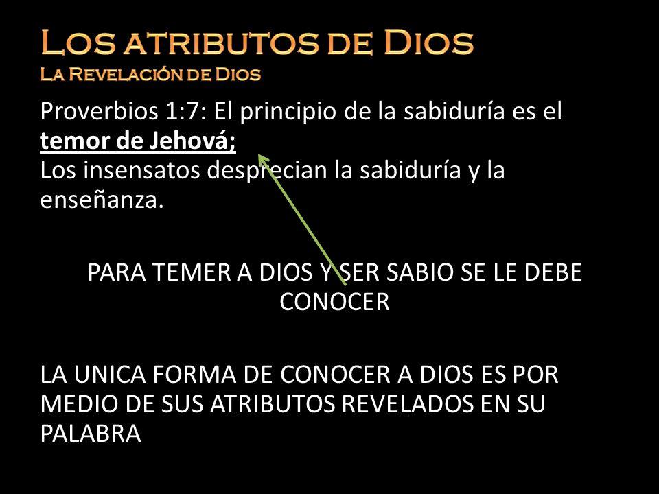 Creemos que hay Un solo Dios Dios tiene todos los atributos (EL todo atributos) EL paganismo tiene Dioses (Elohi) para cada cosa El cristianismo tiene un Dios Elohim con todos los atributos en un Dios indivisible Génesis 17:1 Era Abraham de edad de noventa y nueve años, cuando le apareció Jehová y le dijo: Yo soy el Dios Todopoderoso; שַׁדַּי Shaddái = El todopoderoso (Dios fuerte, corpulento, omnipotente).