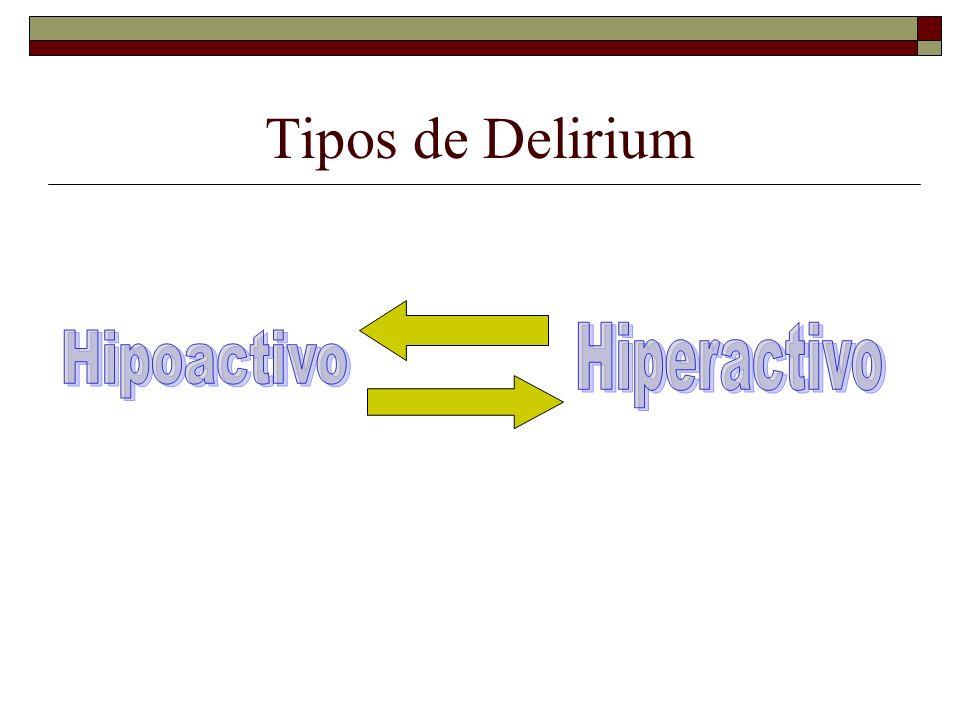 Tipos de Delirium
