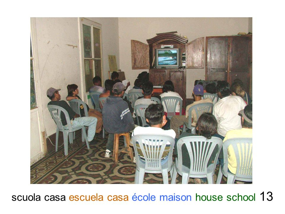 scuola casa escuela casa école maison house school 13