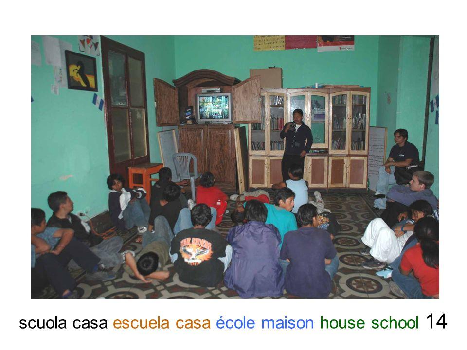 scuola casa escuela casa école maison house school 14