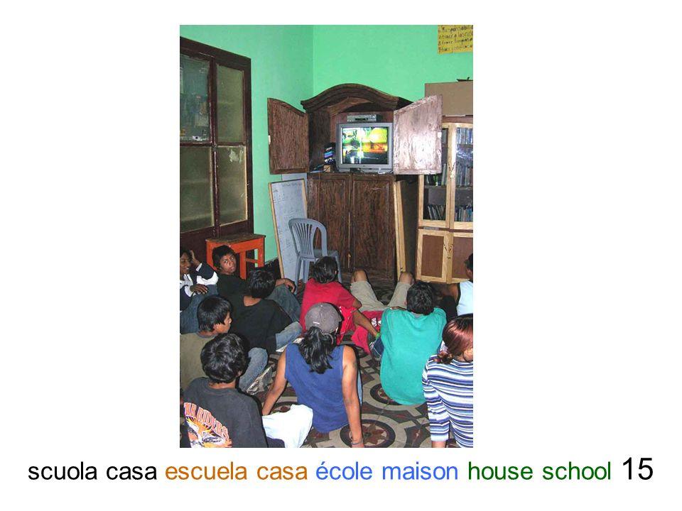 scuola casa escuela casa école maison house school 15