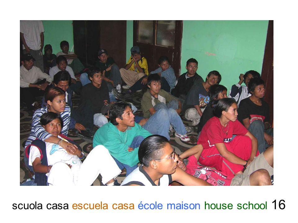scuola casa escuela casa école maison house school 16