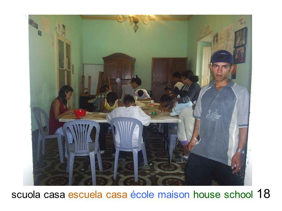 scuola casa escuela casa école maison house school 18