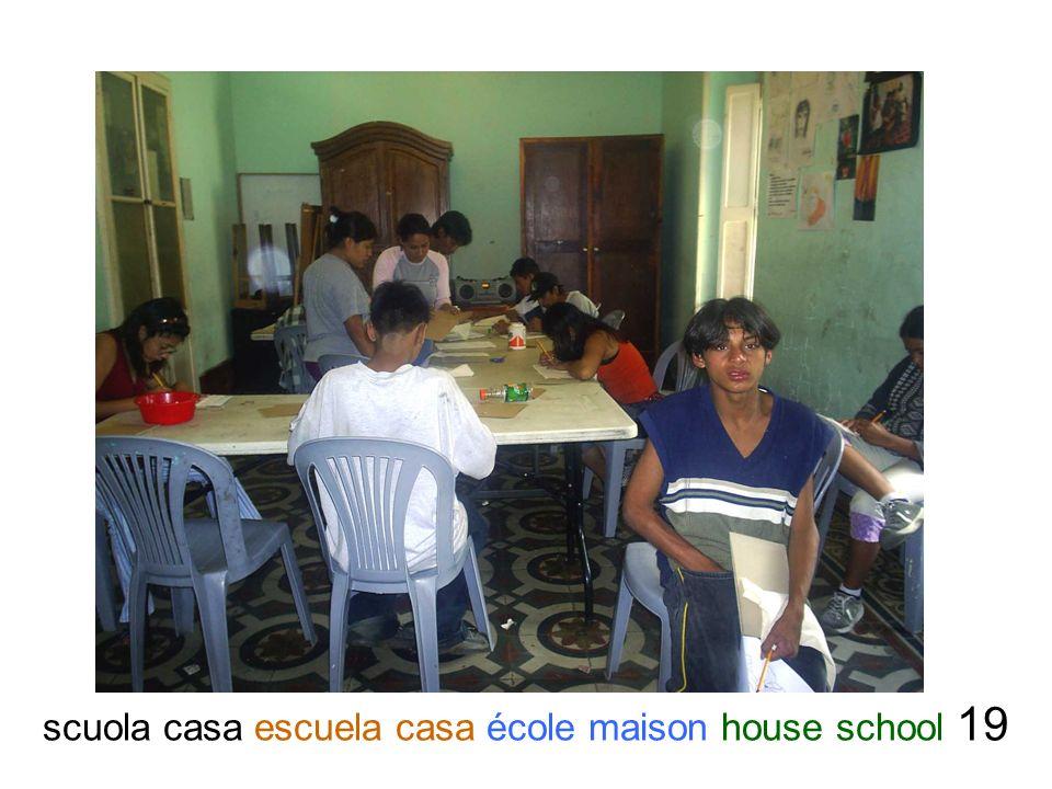 scuola casa escuela casa école maison house school 19