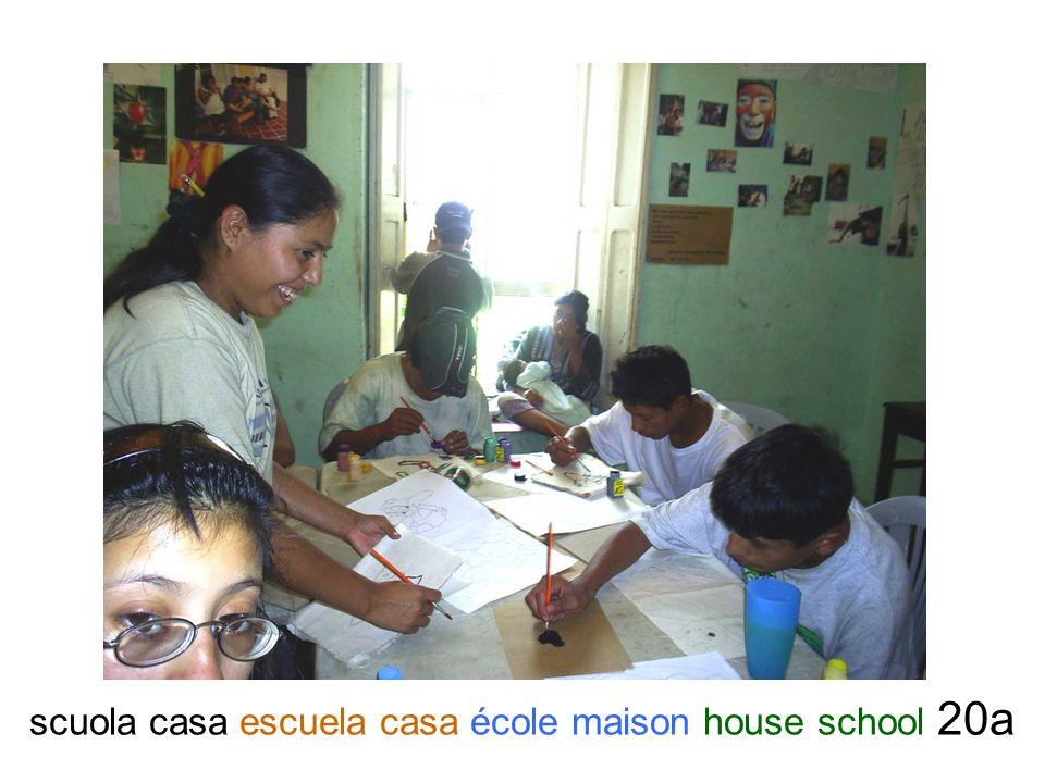 scuola casa escuela casa école maison house school 20a