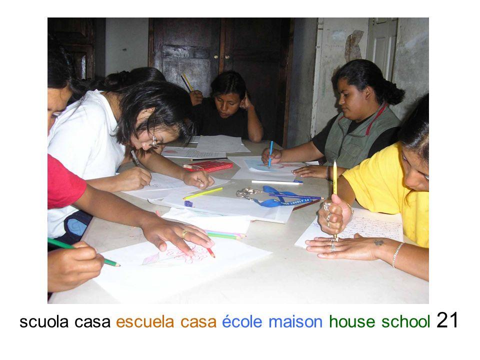 scuola casa escuela casa école maison house school 21