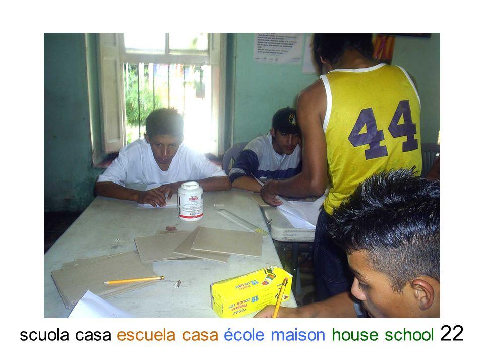 scuola casa escuela casa école maison house school 22