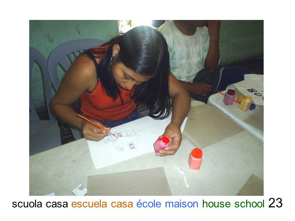 scuola casa escuela casa école maison house school 23