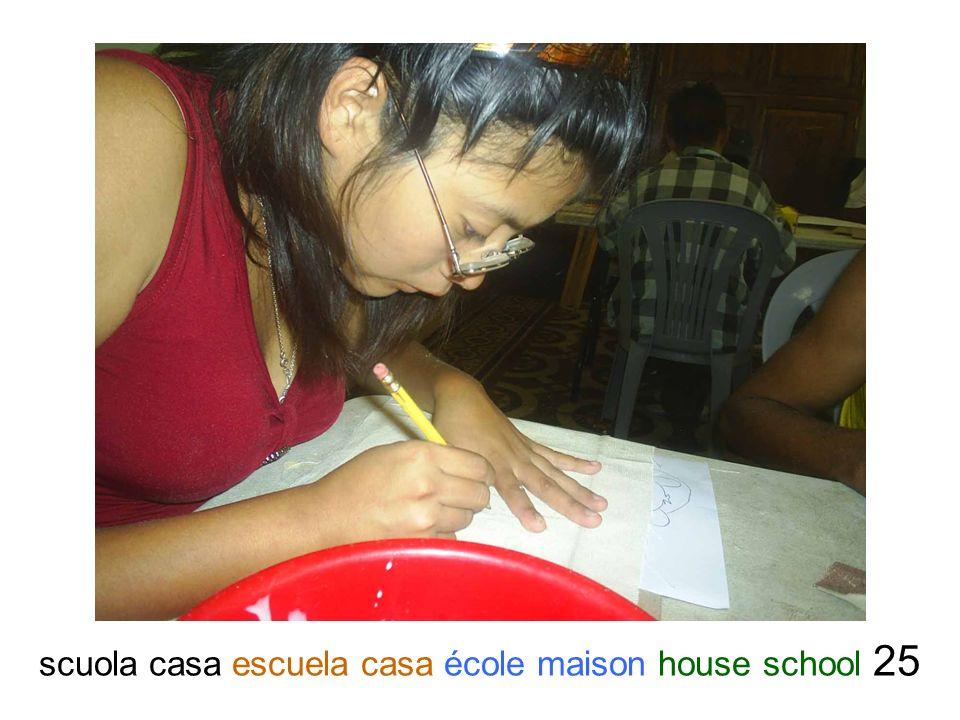 scuola casa escuela casa école maison house school 25
