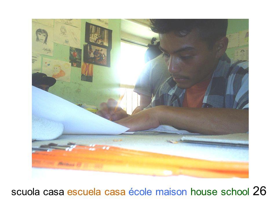 scuola casa escuela casa école maison house school 26