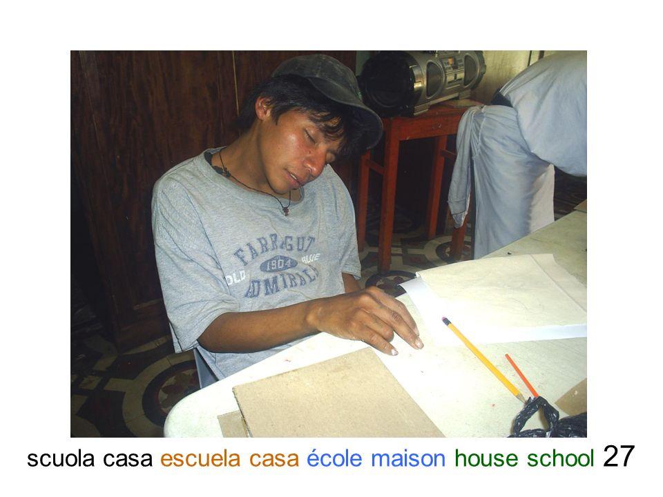 scuola casa escuela casa école maison house school 27