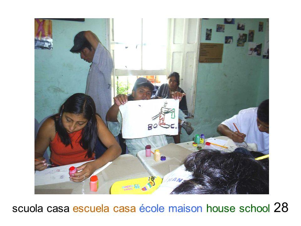 scuola casa escuela casa école maison house school 28
