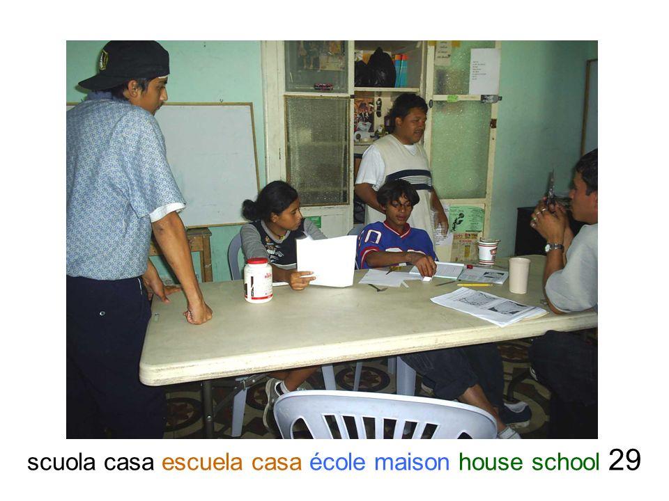 scuola casa escuela casa école maison house school 29