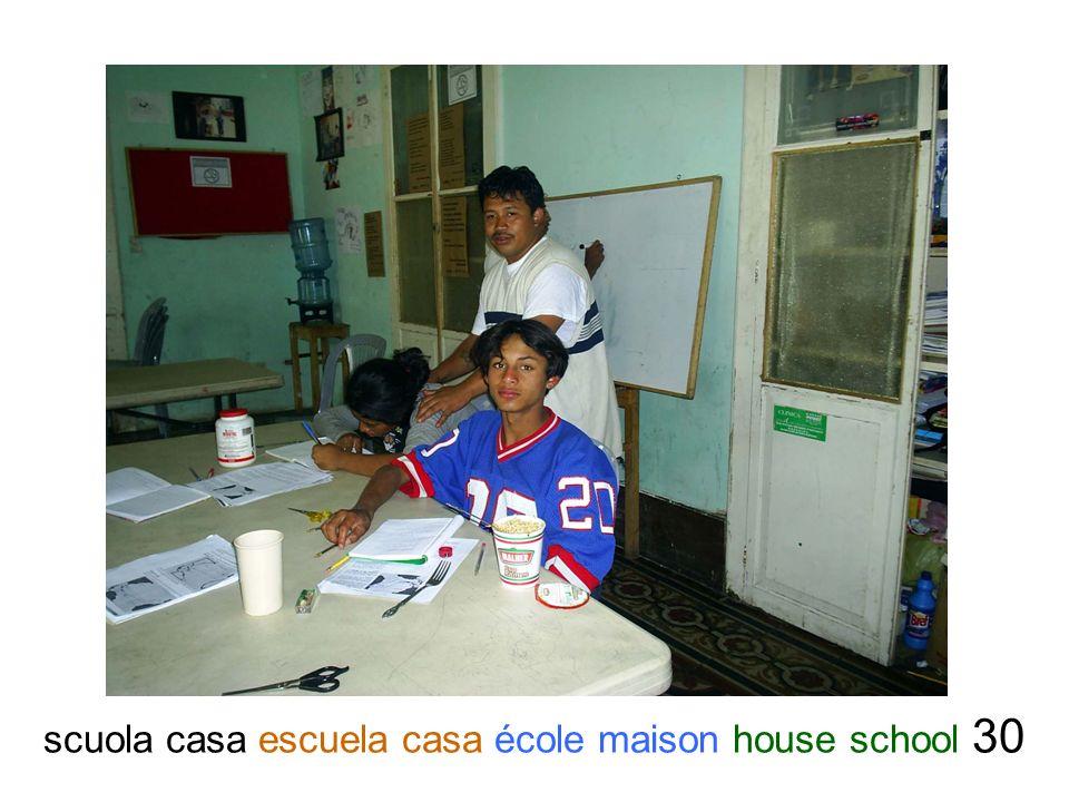 scuola casa escuela casa école maison house school 30