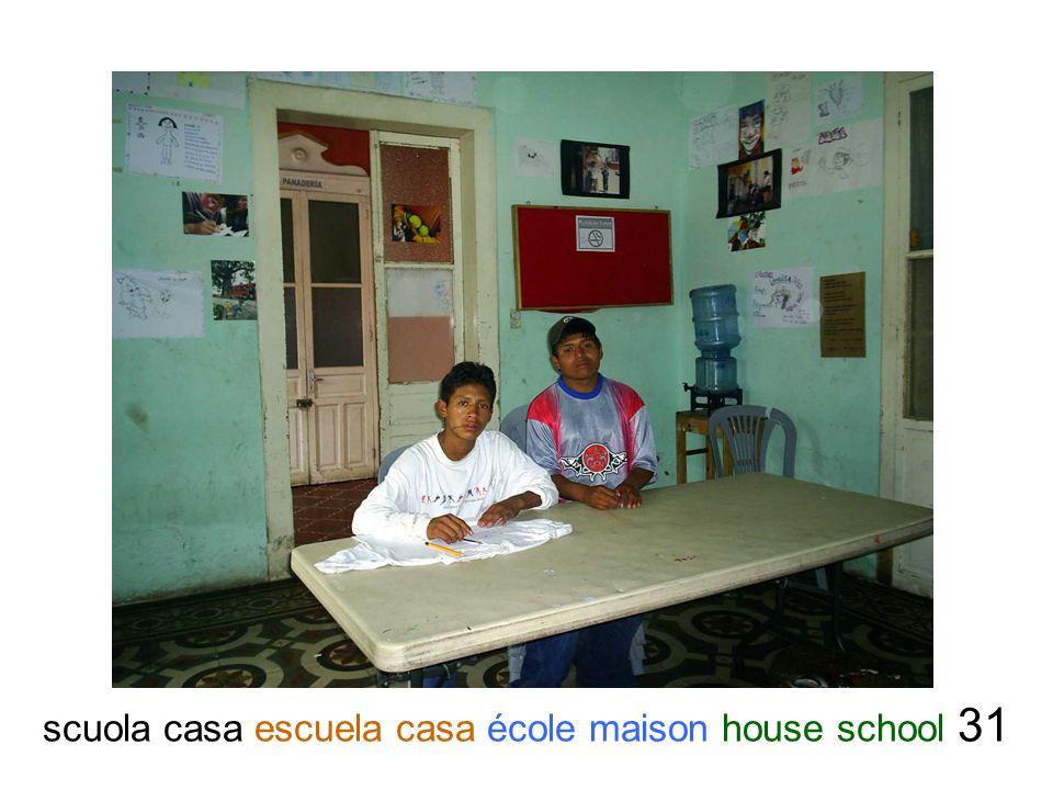 scuola casa escuela casa école maison house school 31