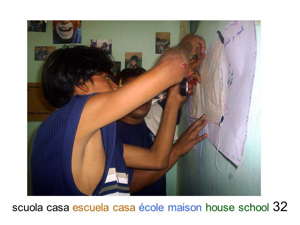 scuola casa escuela casa école maison house school 32